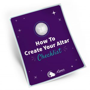 Create Your Altar Checklist
